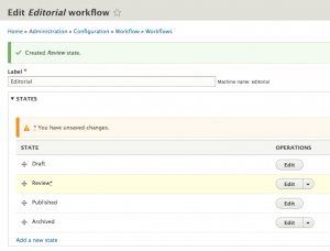 Reordering the Workflow States