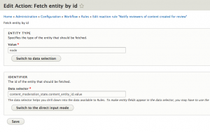 Completed fetch entity by id action